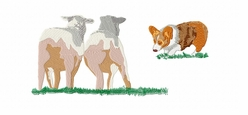 corgi021 Welsh Corgi (small or large design)