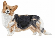 corgi022 Welsh Corgi (small or large design)