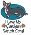 corgi033 Welsh Corgi (small or large design)