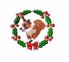 corgi1wreath Welsh Corgi (small or large design)