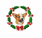 corgi4wreath Welsh Corgi (small or large design)