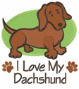 dachs018 Dachshund (small or large design)