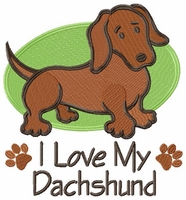 dachs018 Dachshund (small or large design) - Click to enlarge