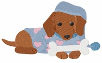 dachs019 Dachshund (small or large design)