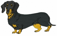 dachs022 Dachshund (small or large design)