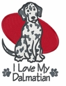 dal005 Dalmatian (small or large design)