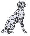 dal006 Dalmatian (small or large design)