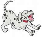 dal007 Dalmatian (small or large design)
