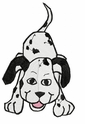 dal008 Dalmatian (small or large design)