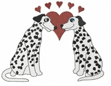 dal011 Dalmatian (small or large design)