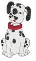 dal012 Dalmatian (small or large design)