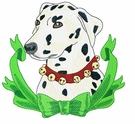 dal013 Dalmatian (small or large design)