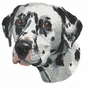 dal016 Dalmatian (small or large design)