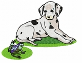 dal017 Dalmatian (small or large design)