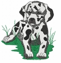 dal021 Dalmatian (small or large design)