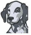 dal026 Dalmatian (small or large design)