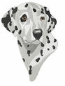dal027 Dalmatian (small or large design)