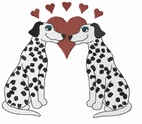 dal034 Dalmatian (small or large design)