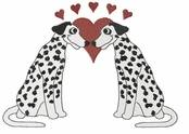 dal035 Dalmatian (small or large design)