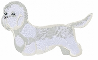 dandie002 Dandie Dinmont Terrier (small or large design)