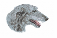 deerhound001 Scottish Deerhound (small or large design)