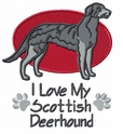 deerhound002 Scottish Deerhound (small or large design)