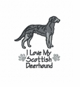 deerhound003 Scottish Deerhound (small or large design)