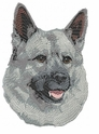 elkh001 Norwegian Elkhound (small or large design)