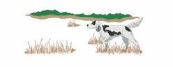 engsetter008 English Setter (small or large design)