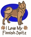 finnish004 Finnish Spitz (small or large design)