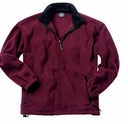 Fleece Zip Jacket with Design