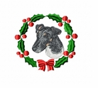 foxter1wreath Fox Terrier (small or large design)
