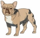 frenchbull004 French Bulldog (small or large design)