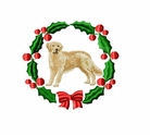 golden6wreath Golden Retriever (small or large design)