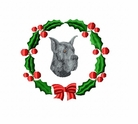 greatdane1wreath Great Dane (small or large design)