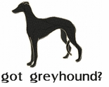 greyhound022 Greyhound   (small or large design)
