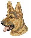 gsd008 German Shepherd Dog (small or large design)