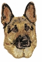 gsd025 German Shepherd Dog (small or large design)