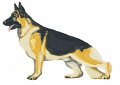 gsd029 German Shepherd Dog (small or large design)