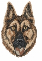 gsd051 German Shepherd Dog (small or large design)
