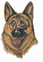 gsd055 German Shepherd Dog (small or large design)
