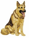 gsd061 German Shepherd Dog (small or large design)