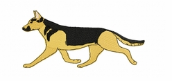 gsd082 German Shepherd Dog (small or large design)