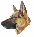 gsd092 German Shepherd Dog (small or large design)