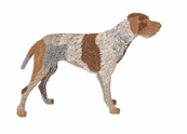 gwp001 German Wirehaired Pointer (small or large design)