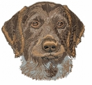 gwp007 German Wirehaired Pointer (small or large design)