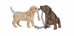 lab142 Labrador Retriever (small or large design)