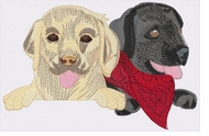 lab152 Labrador Retriever (small or large design)