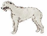 iwh005 Irish Wolfhound (small or large design)