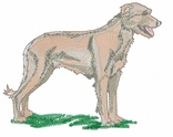 iwh006 Irish Wolfhound (small or large design)